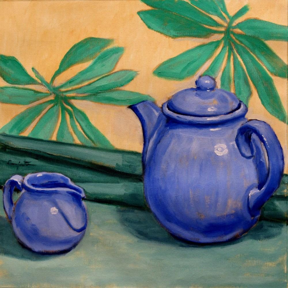 """""""Juego de té"""" original fine art by Eduardo Carpintero"""