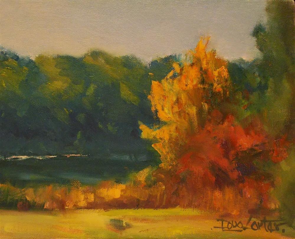 """""""FALL COLORS"""" original fine art by Doug Carter"""