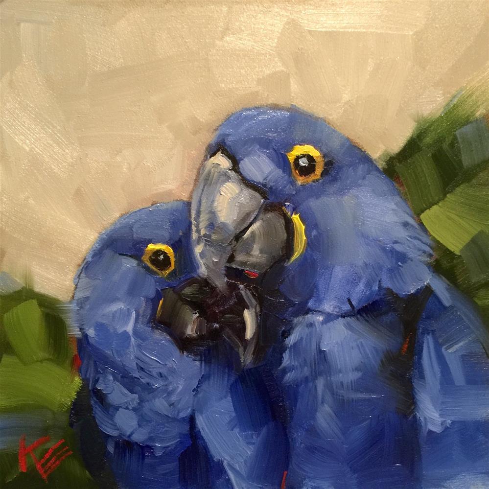 """Together "" original fine art by Krista Eaton"