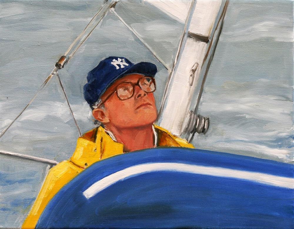 """yankee sailor"" original fine art by Carol Carmichael"