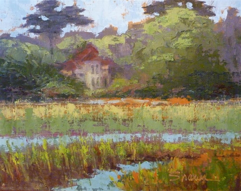"""Across the Marsh"" original fine art by Shawn Deitch"