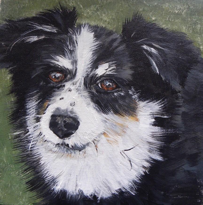 """""""Molly"""" original fine art by cheryl buhrman"""