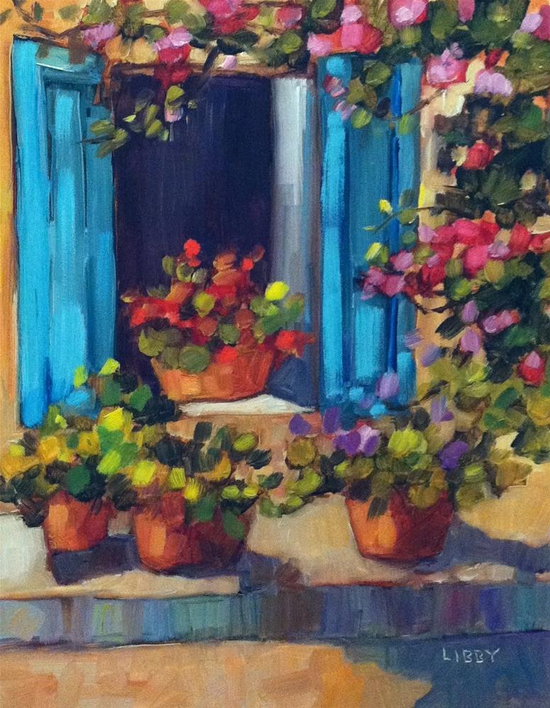 """""""Open Window"""" original fine art by Libby Anderson"""