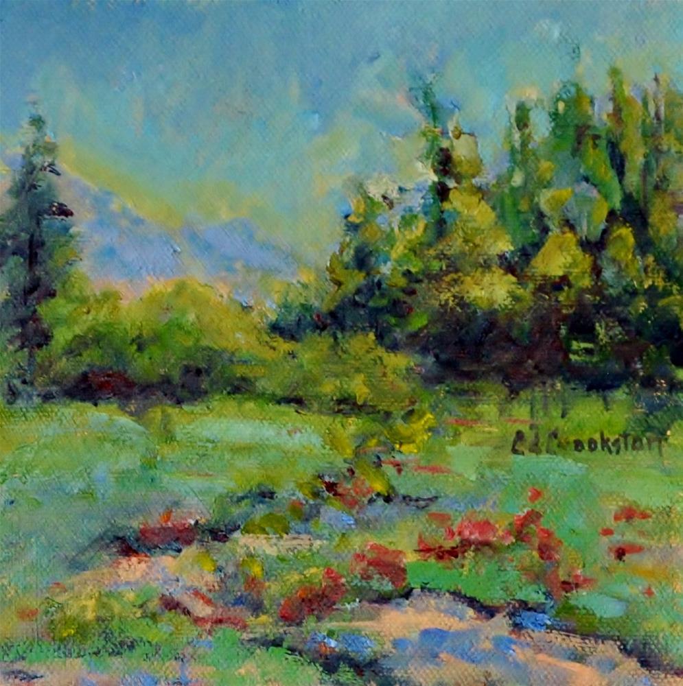 """Morning Ride"" original fine art by Catherine Crookston"
