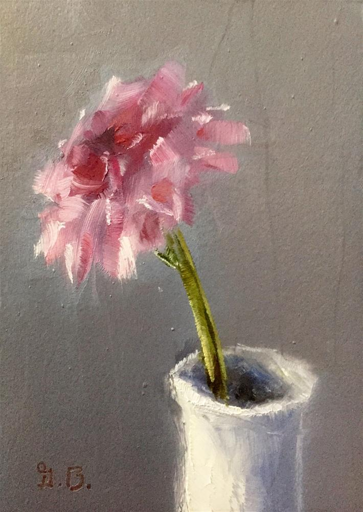 """Single Pom"" original fine art by Gary Bruton"