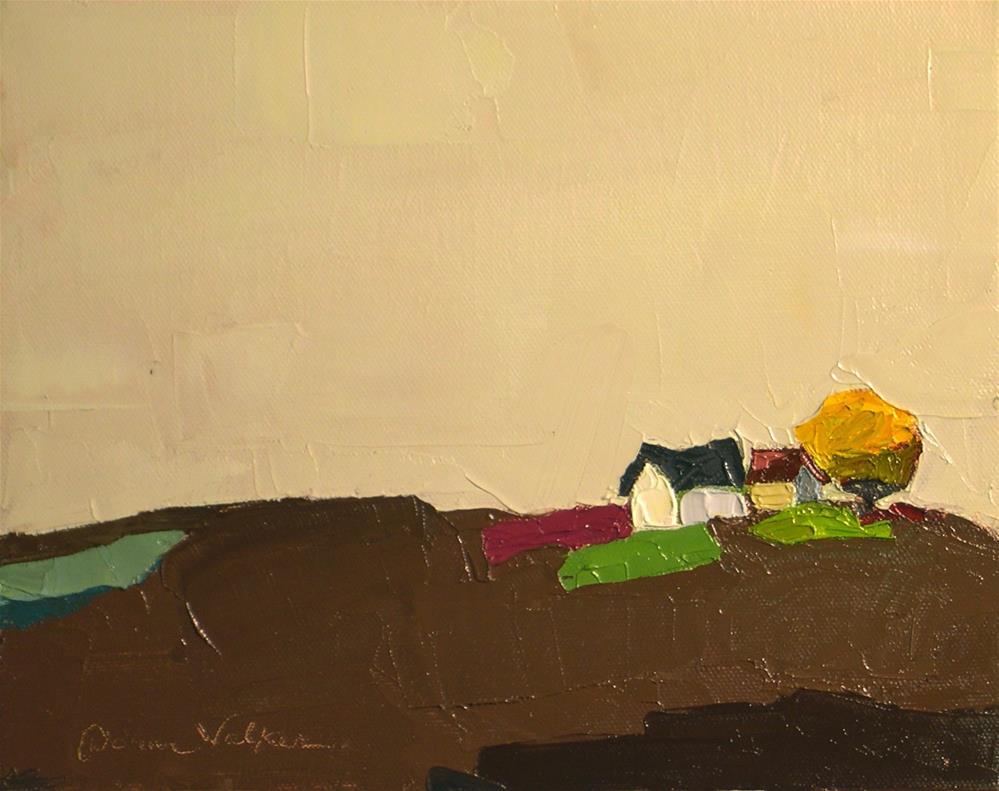 """On a Clear Day II"" original fine art by Donna Walker"