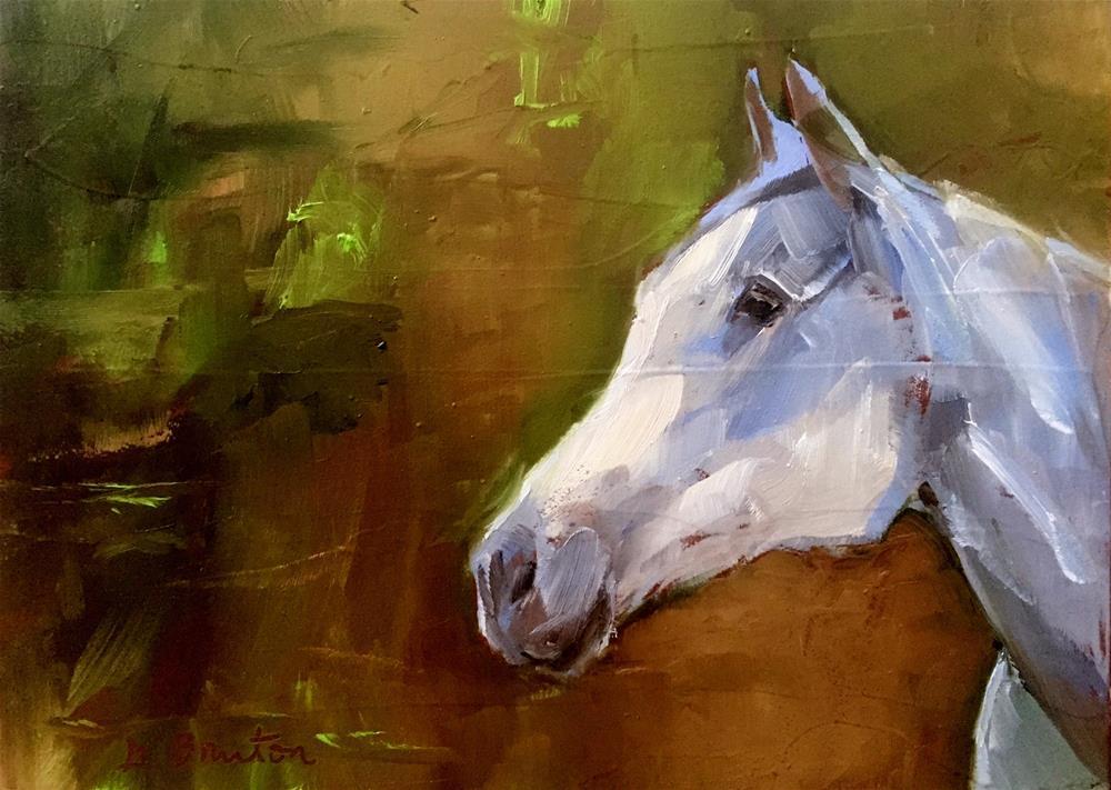 """Horse"" original fine art by Gary Bruton"