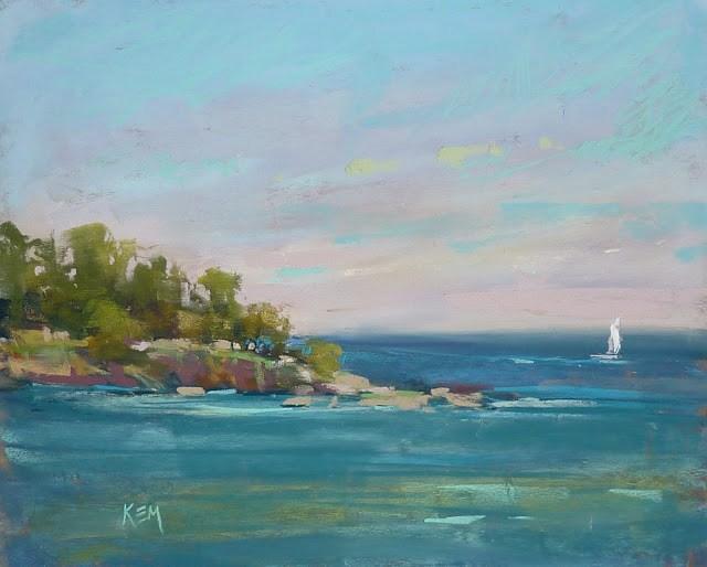 """""""A Week in Croatia part 3: The Sea"""" original fine art by Karen Margulis"""