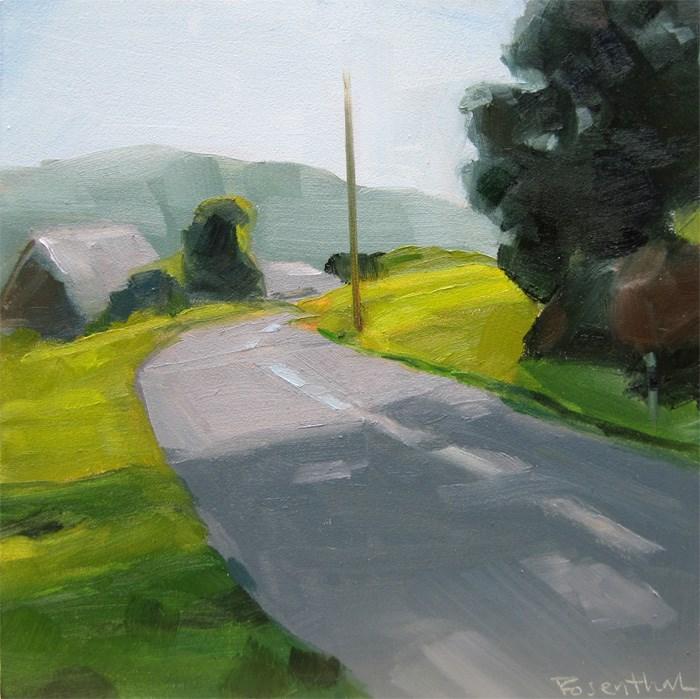"""The German Landscape Challenge"" original fine art by Robin Rosenthal"