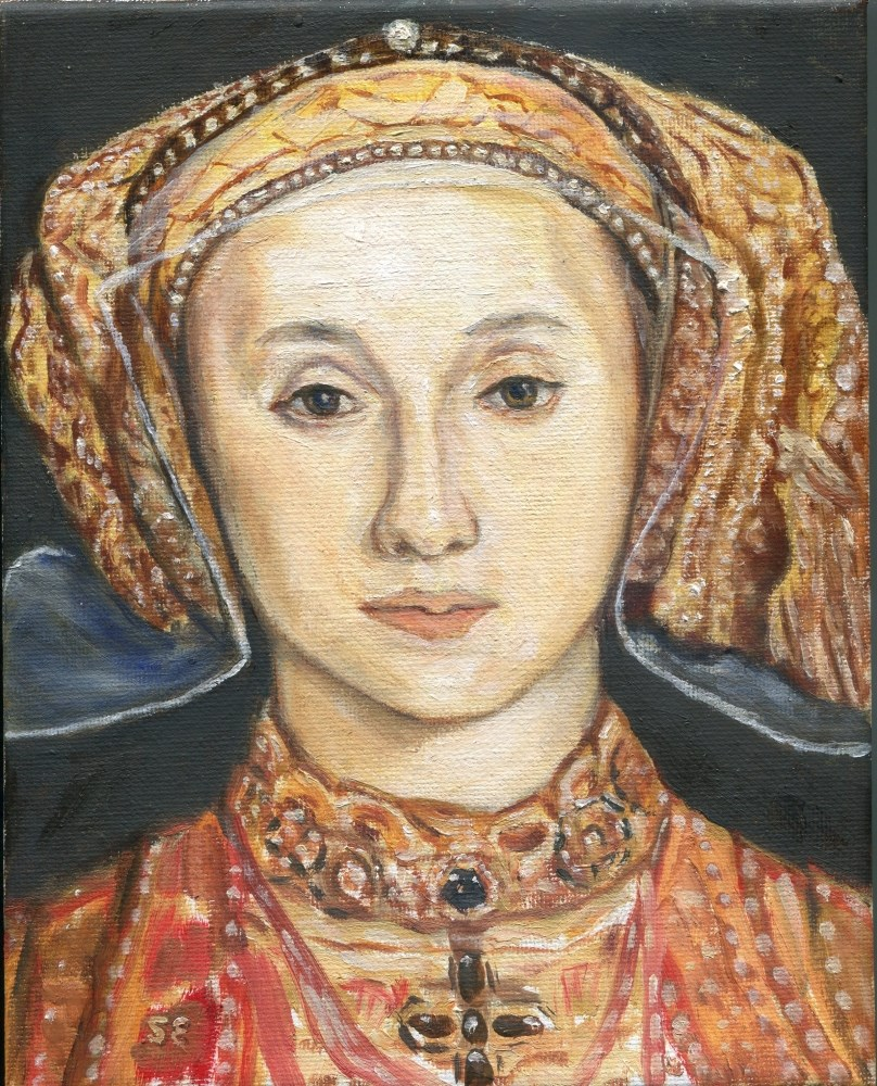 """""""Anne of Cleves"""" original fine art by Stanley Epperson"""