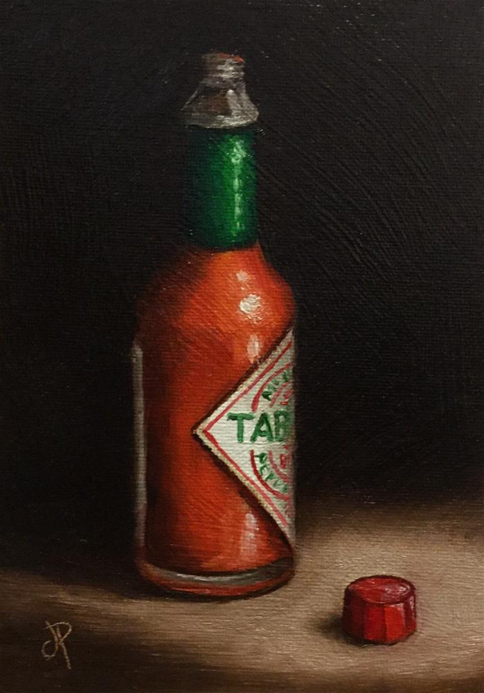 """Hot stuff"" original fine art by Jane Palmer"