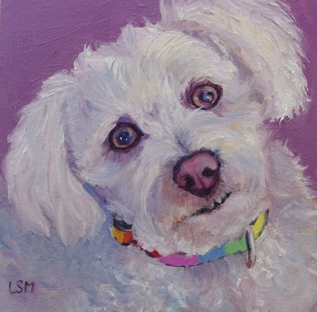 """Max"" original fine art by Linda Marino"
