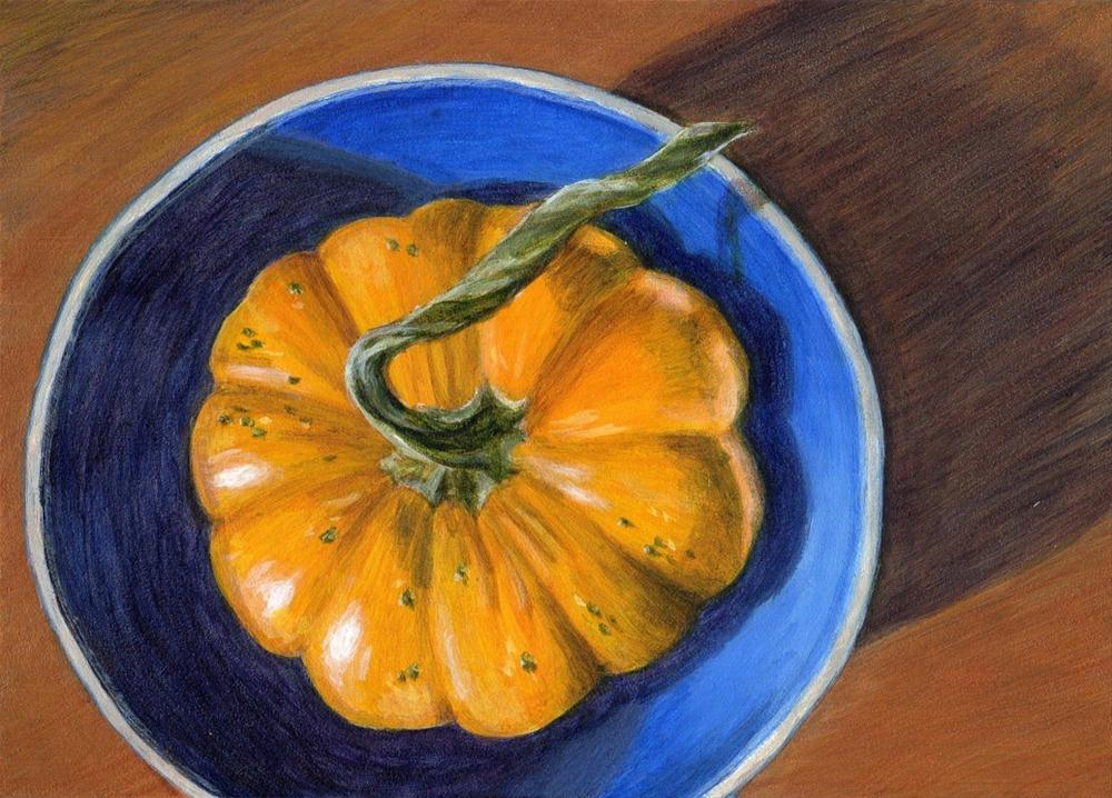 """Autumn's Aim"" original fine art by Debbie Shirley"