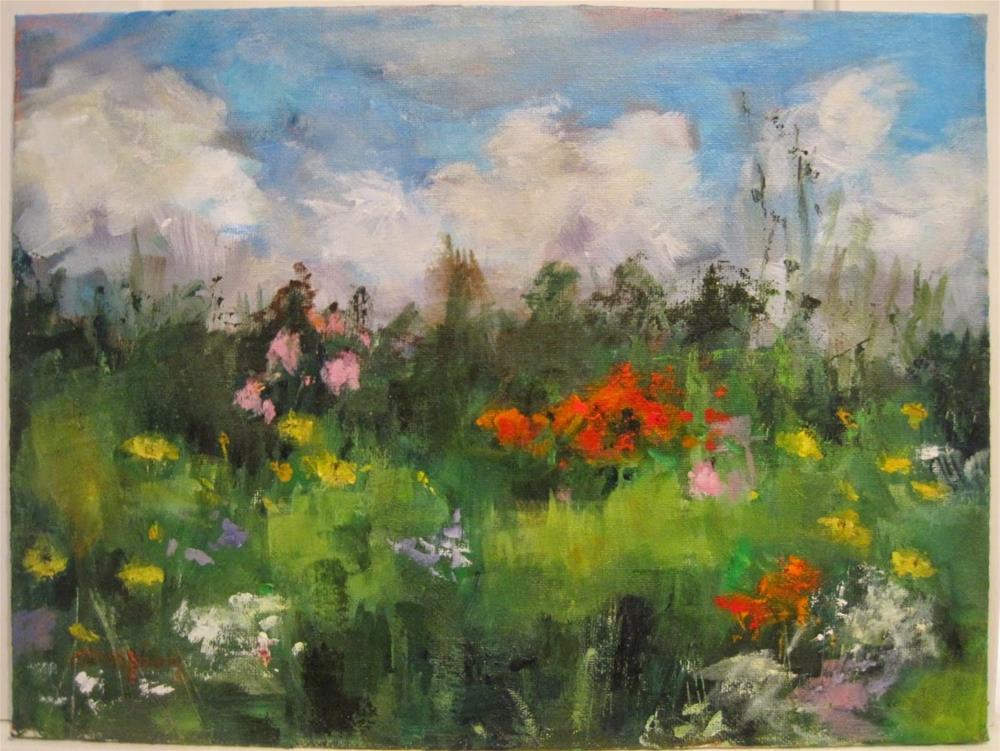 """""""430 Prairie"""" original fine art by Diane Campion"""