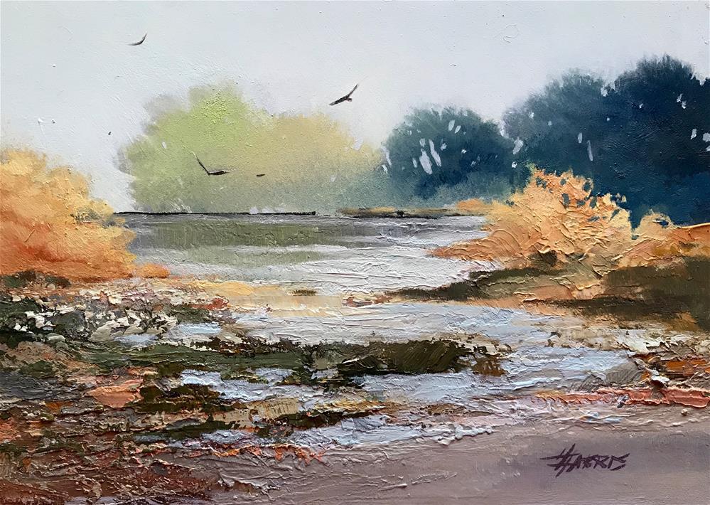 """Where the Light Falls Softly"" original fine art by Helen Harris"