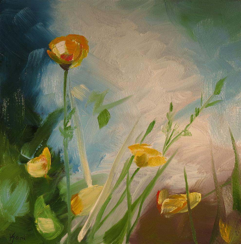 """""""Buttercups"""" original fine art by Kari Melen"""
