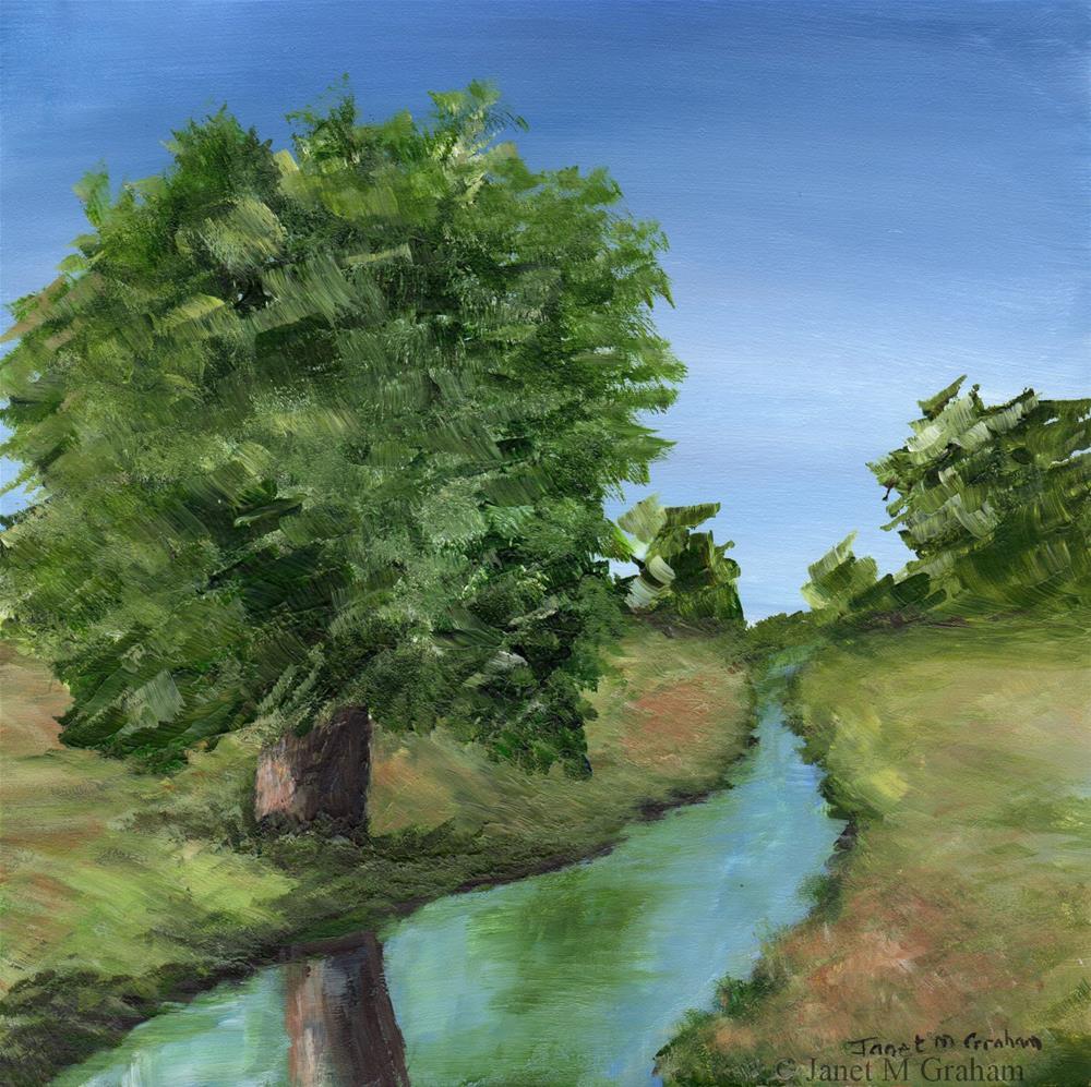 """""""Summer Days"""" original fine art by Janet Graham"""