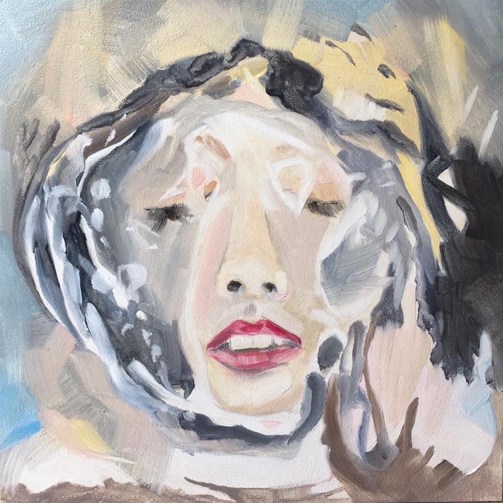 """182 Afloat"" original fine art by Jenny Doh"