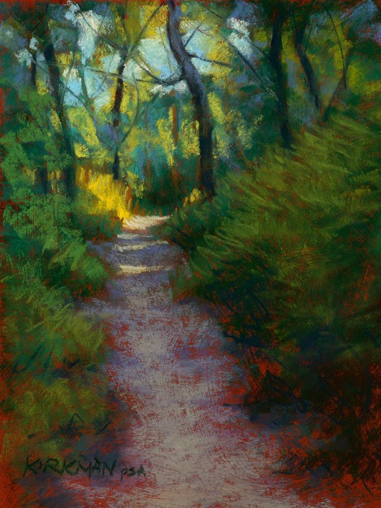 """""""Park Trail #14"""" original fine art by Rita Kirkman"""