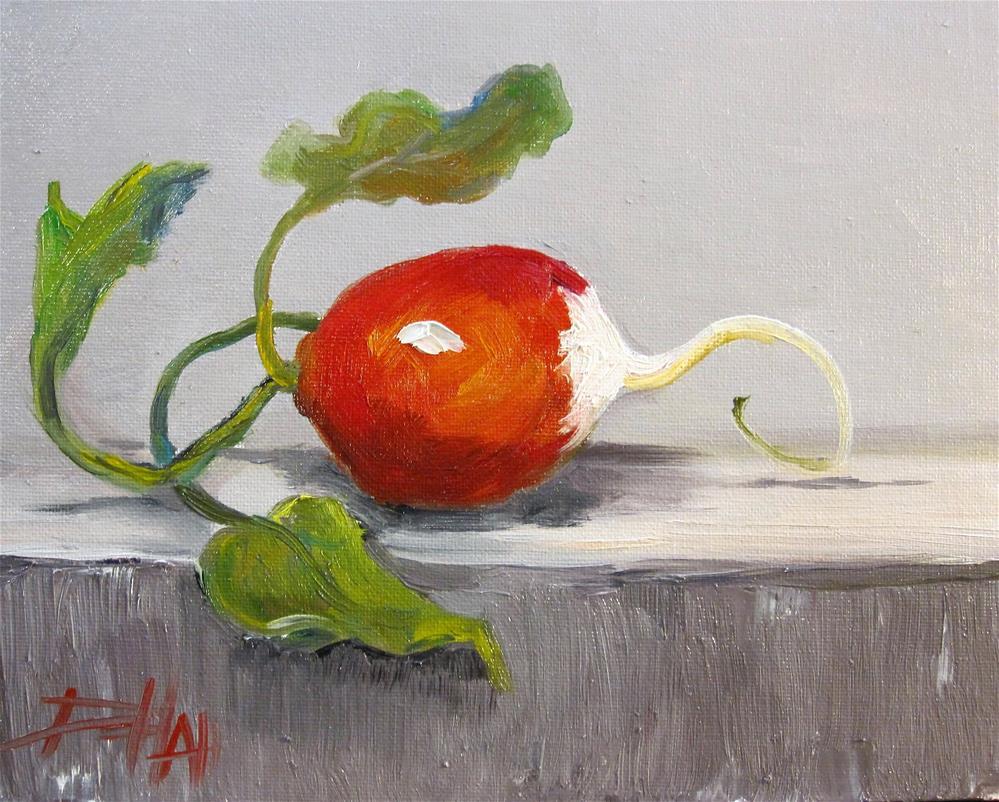 """One Radish "" original fine art by Delilah Smith"
