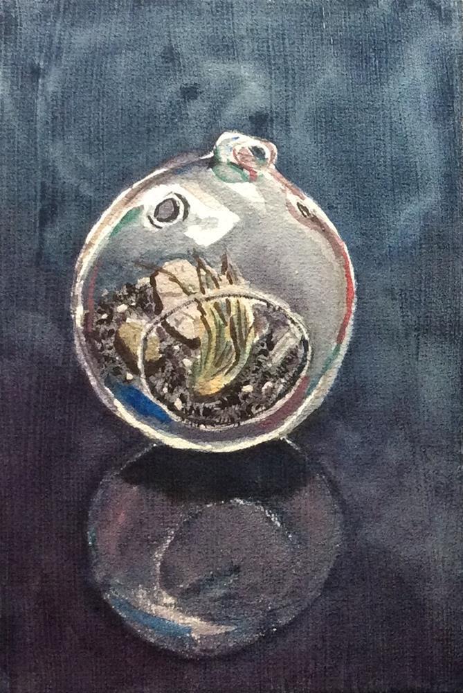 """Terrarium II"" original fine art by Jenny Kinberg"