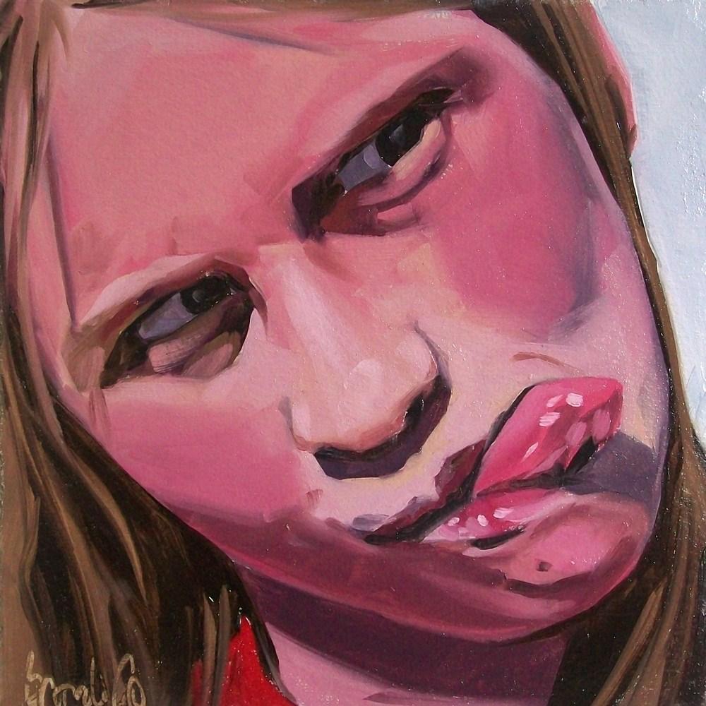 """Girl 10"" original fine art by Brandi Bowman"