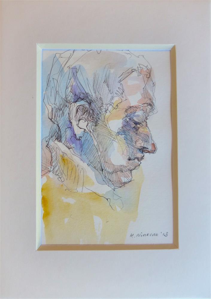 """sketchbook147"" original fine art by Katya Minkina"