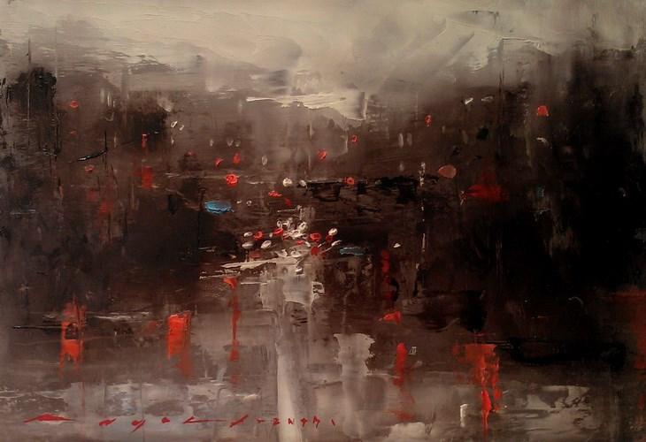 """Cytiscape"" original fine art by Angel Angelov"