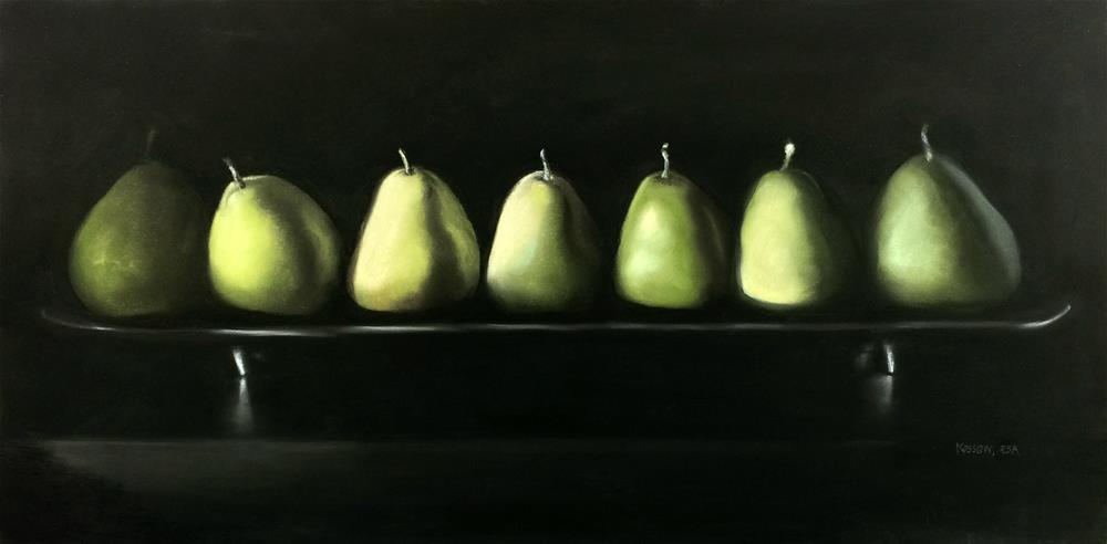 """Everyone Take A Bow"" original fine art by Cristine Kossow"