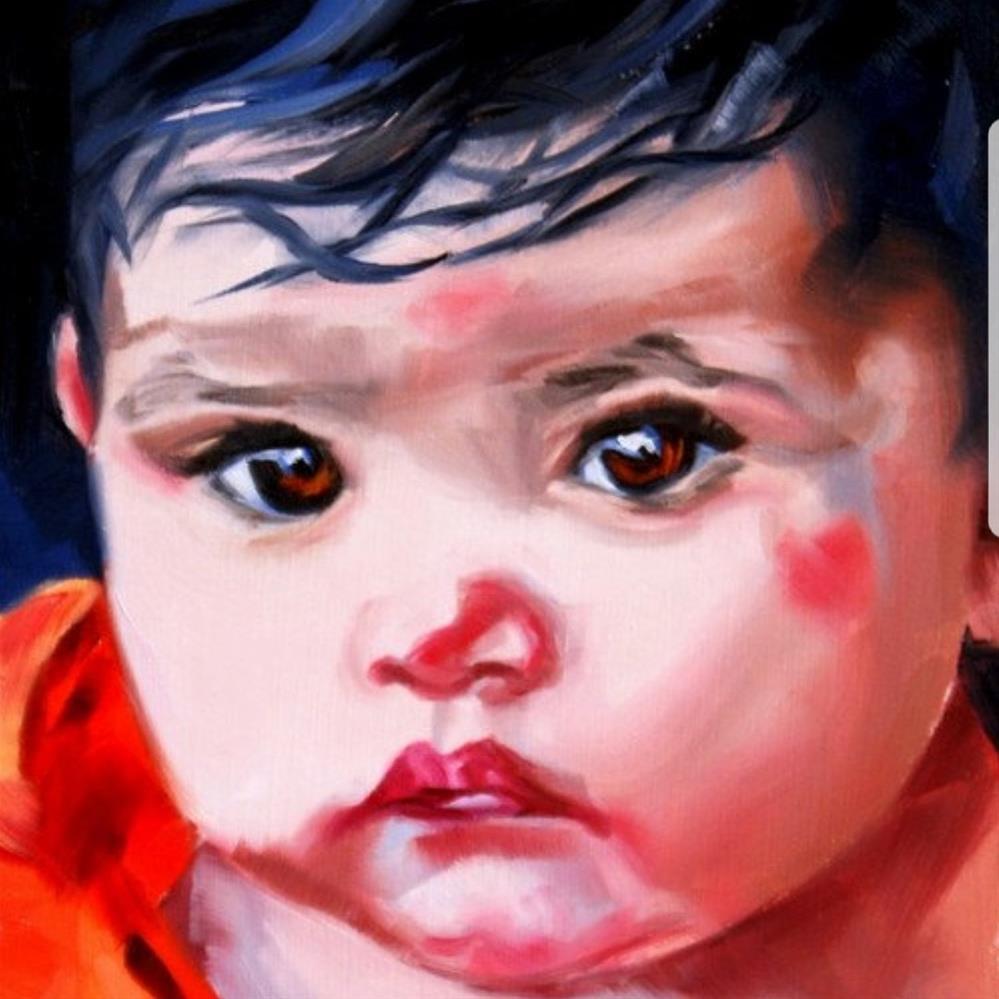 """Freedom of Innocence"" original fine art by Crystal Cook"