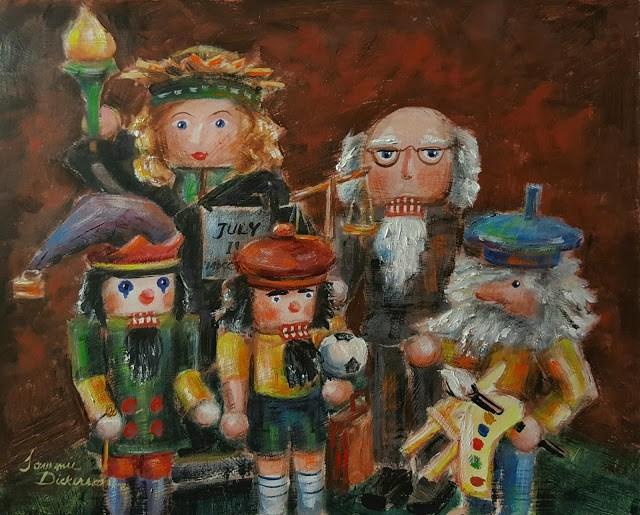 """""""Nutcracker Family!"""" original fine art by Tammie Dickerson"""