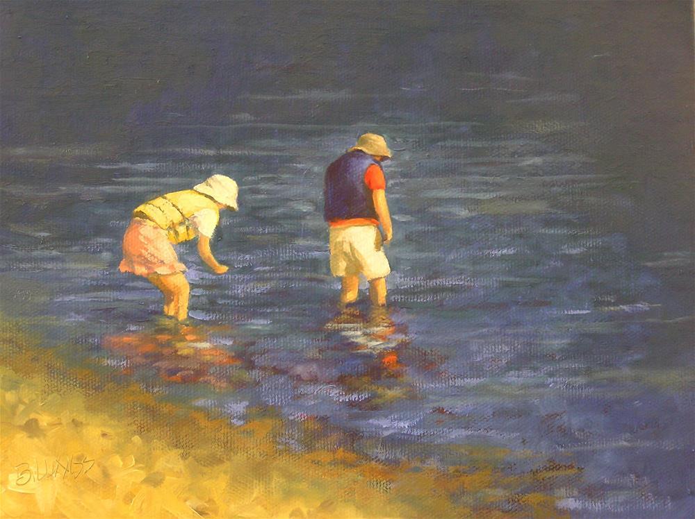 """""""Searching"""" original fine art by Susanne Billings"""