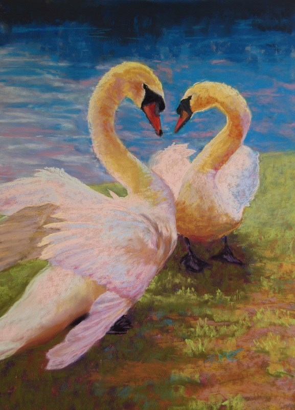 """Spring Fever"" original fine art by Ruth Mann"