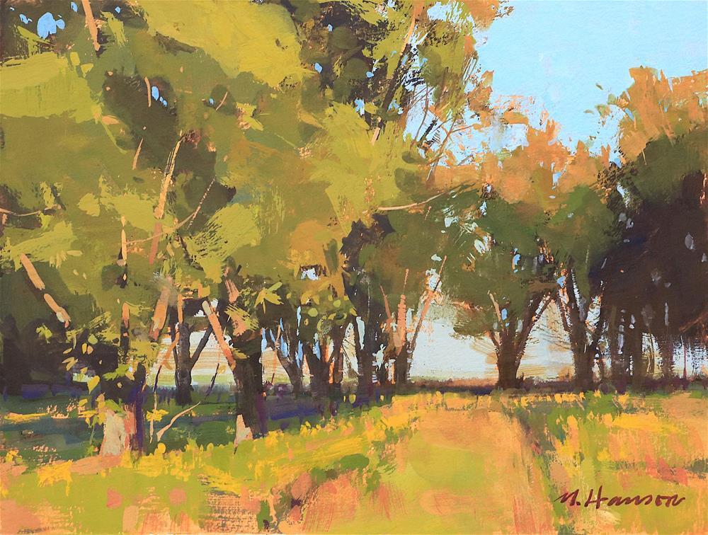 """Old Grove"" original fine art by Marc Hanson"