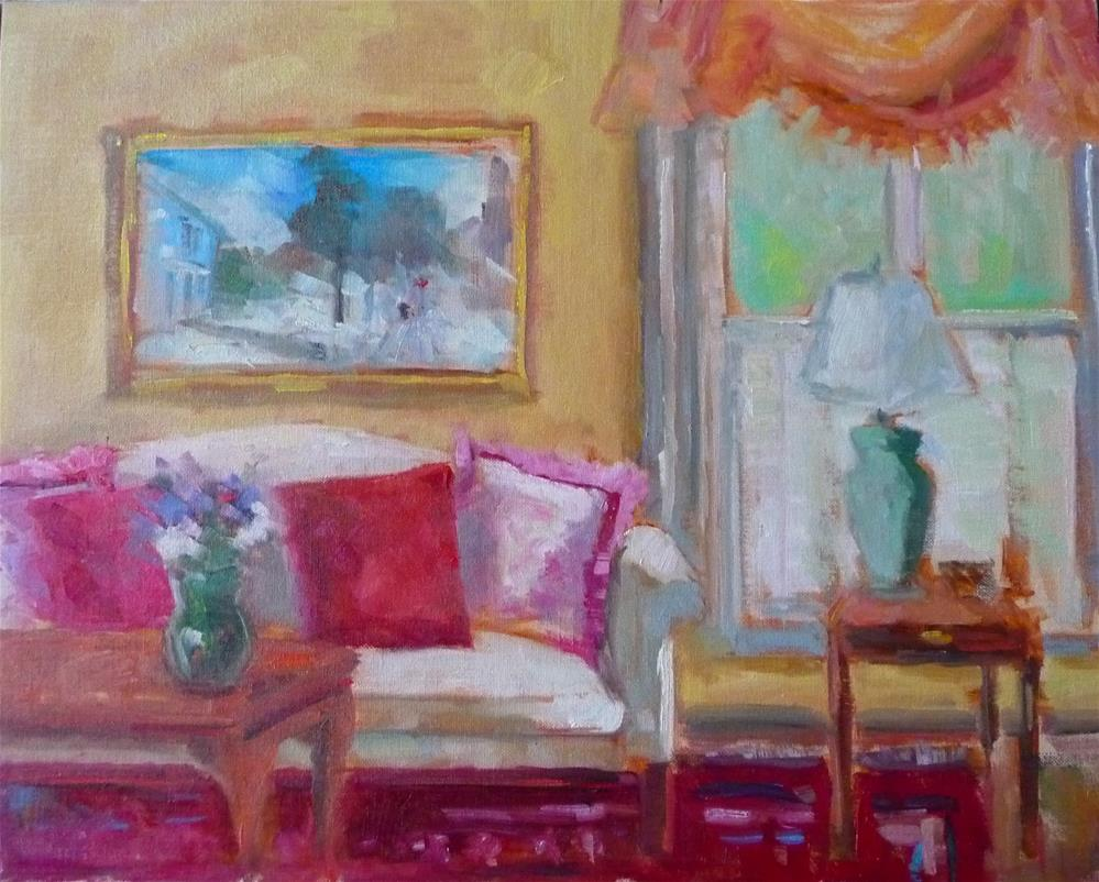 """Interior #1"" original fine art by Carol Josefiak"