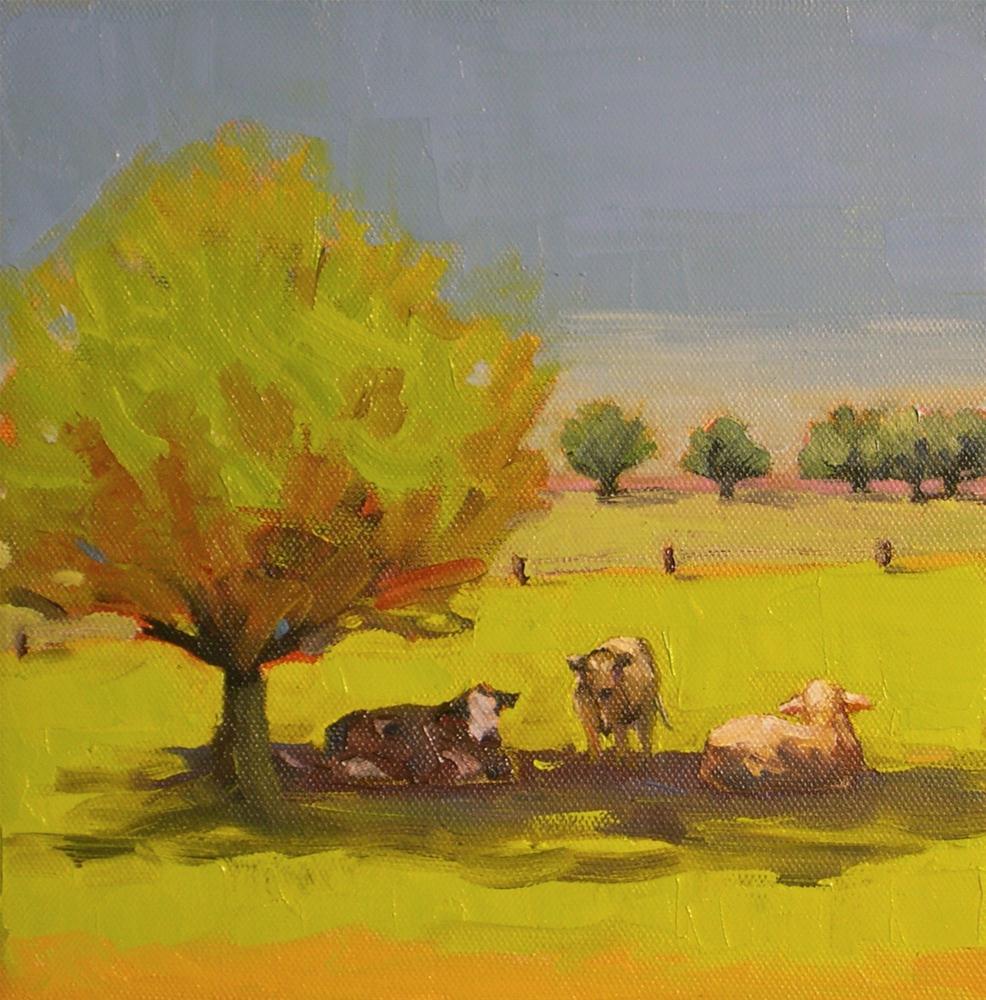 """""""Three Friends Revisited"""" original fine art by Donna Walker"""