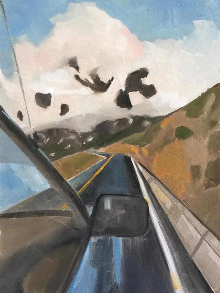 """309 The Road Ahead"" original fine art by Jenny Doh"