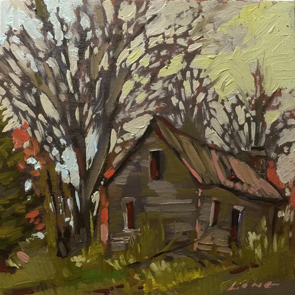 """Abandoned"" original fine art by Chris Long"