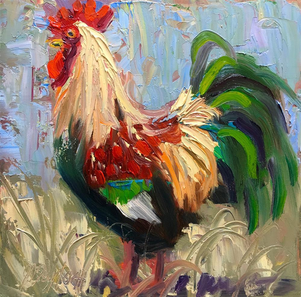"""Roos By JS Taylor"" original fine art by Jennifer Stottle Taylor"