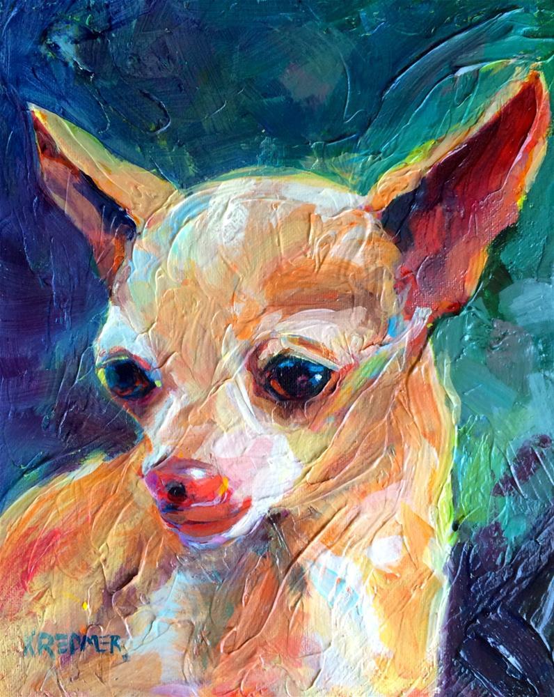 """""""Sam"""" original fine art by Kathleen Redmer"""