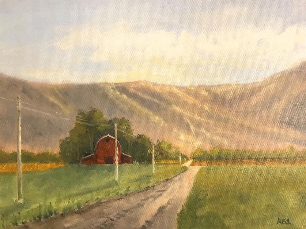 """road to the mountains"" original fine art by Betty Argiros"