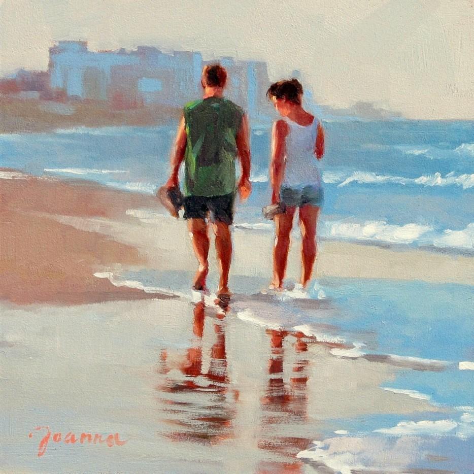 """Heading Home"" original fine art by Joanna Bingham"