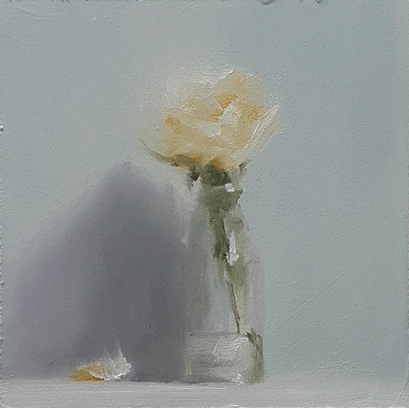 """""""Rose in Bottle"""" original fine art by Neil Carroll"""
