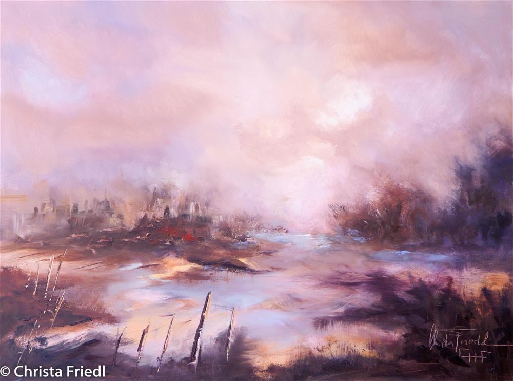 """A New Day"" original fine art by Christa Friedl"