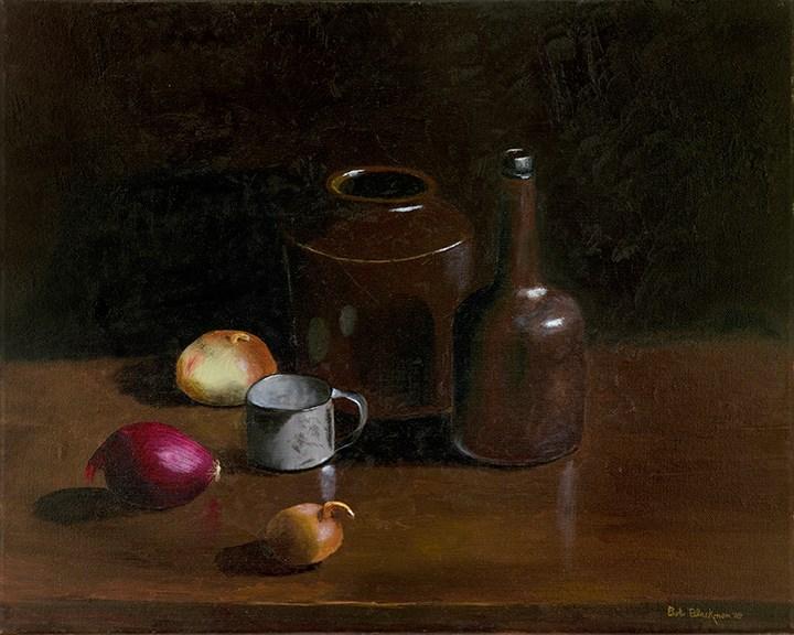 """Onions"" original fine art by Bob Blackmon"