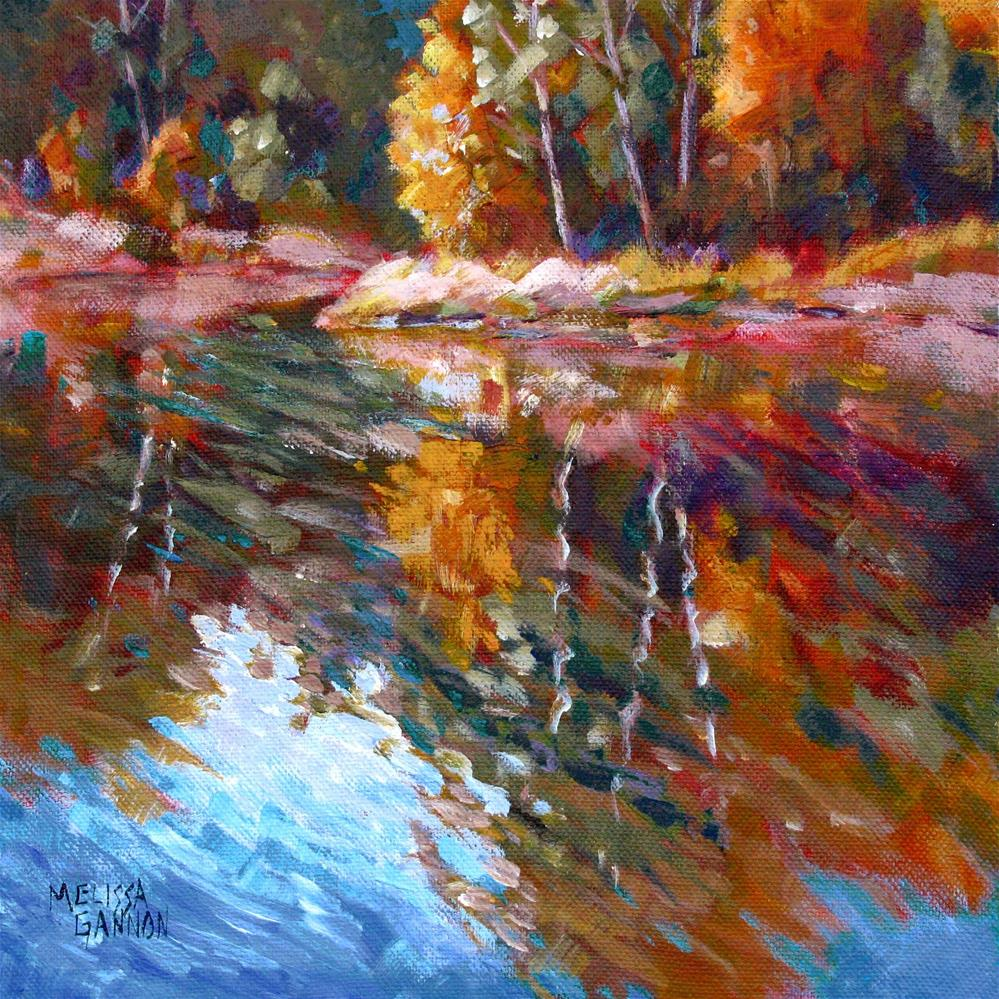 """""""All About Reflections"""" original fine art by Melissa Gannon"""