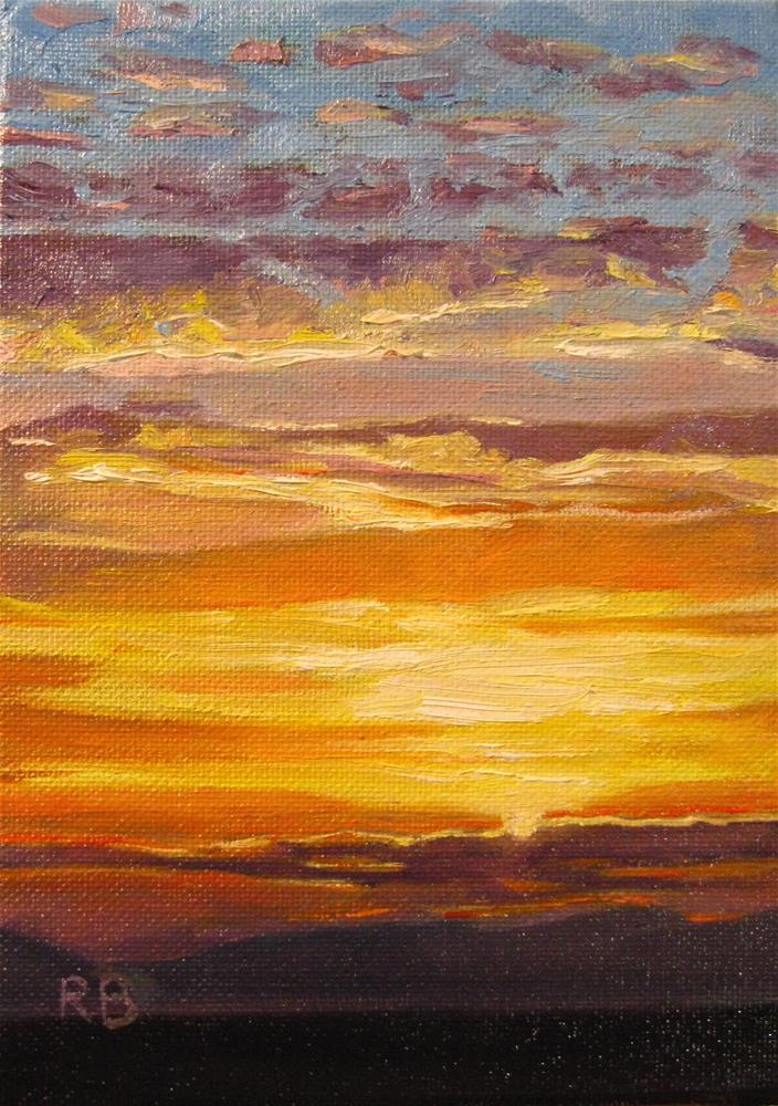"""Thankful Ending"" original fine art by Robie Benve"