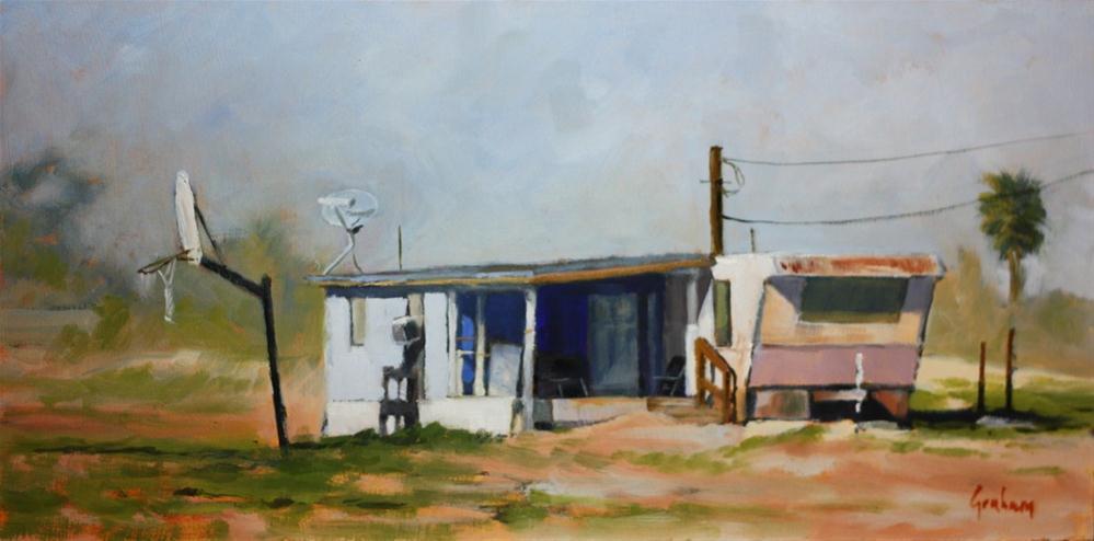"""""""Beeline Highway"""" original fine art by Graham Townsend"""