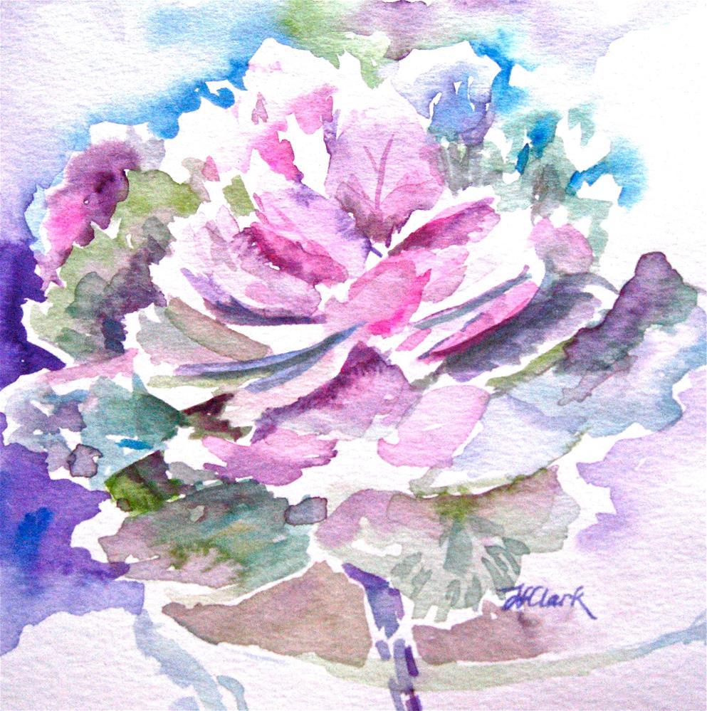 """Purely Ornamental"" original fine art by Judith Freeman Clark"