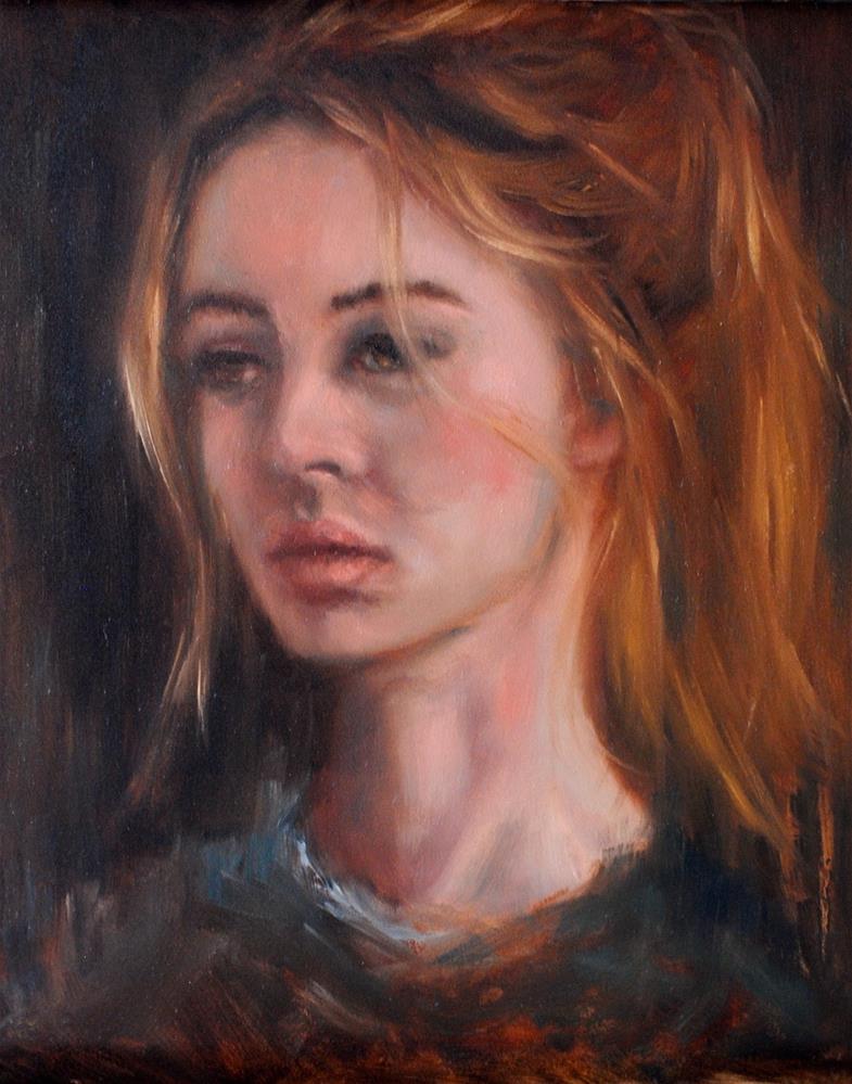 """Resolved"" original fine art by Kelly Berkey"
